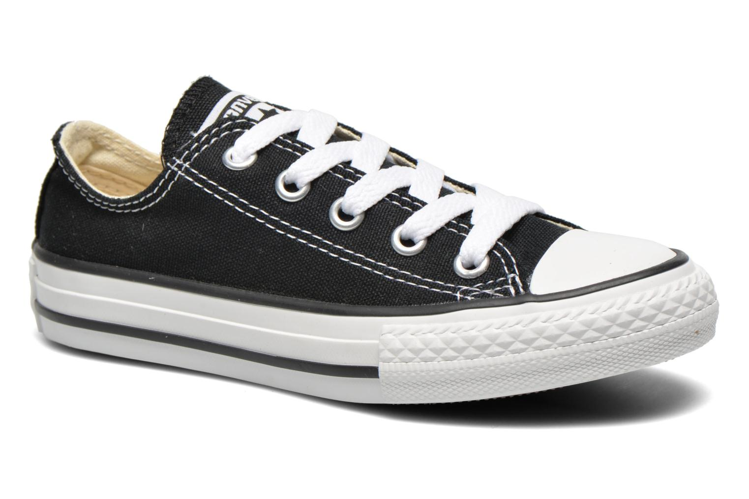Sneakers Converse Chuck Taylor All Star Core Ox Sort detaljeret billede af skoene