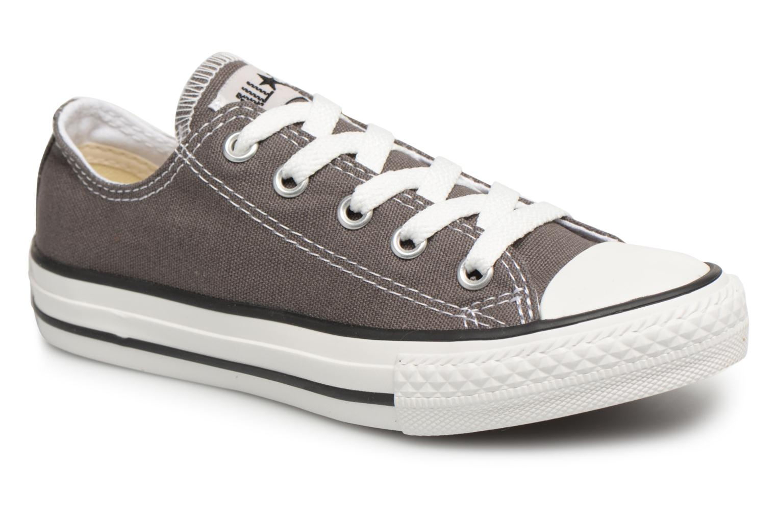 Sneakers Converse Chuck Taylor All Star Core Ox Grijs detail