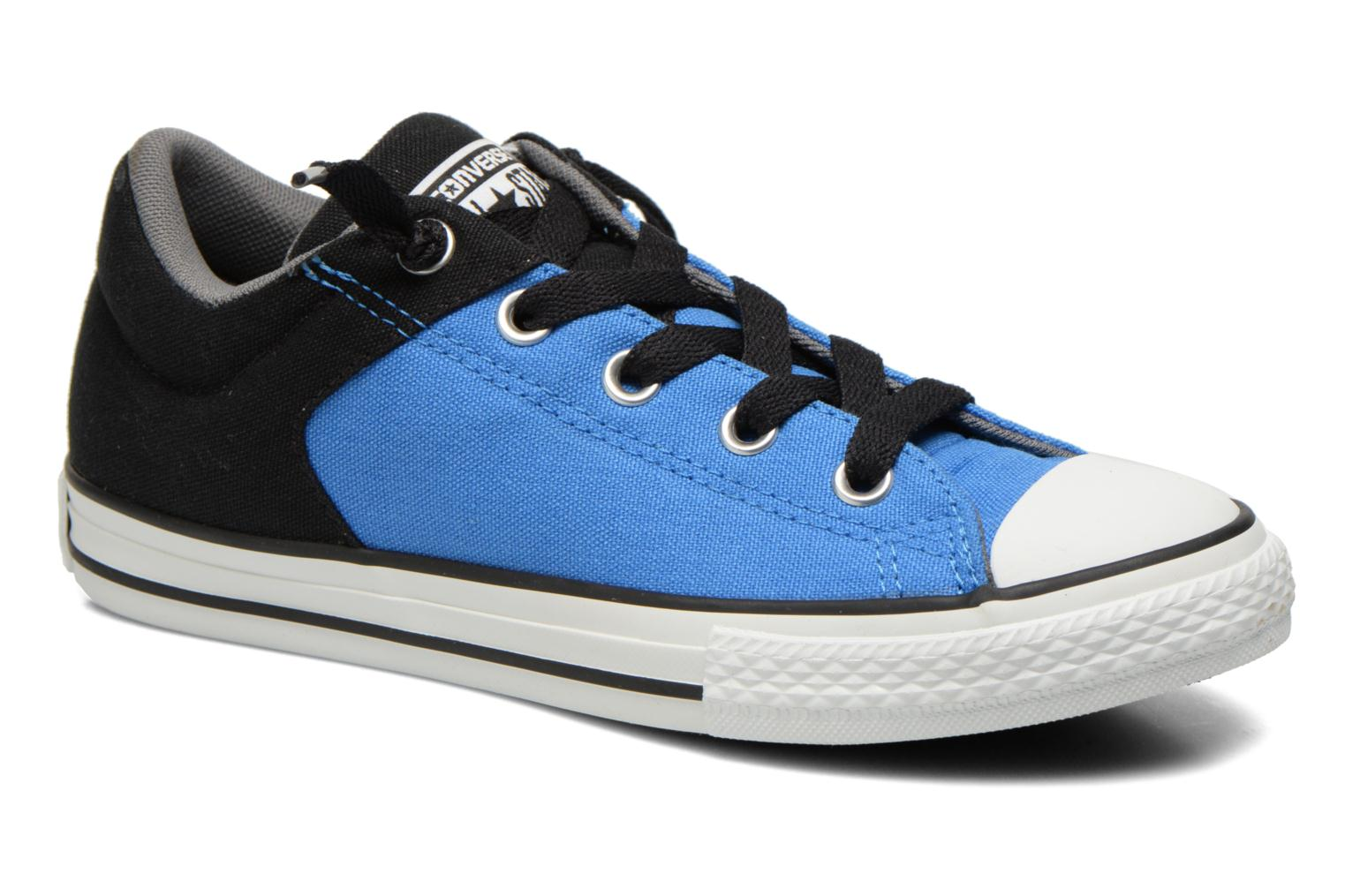 Trainers Converse Chuck Taylor High Street Blue detailed view/ Pair view