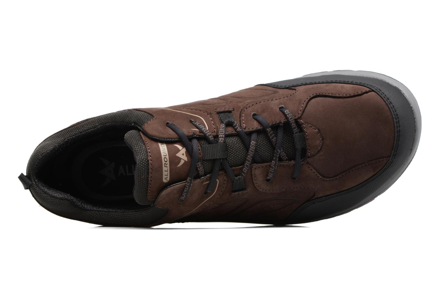 Baskets Allrounder by Mephisto Caletto Tex Marron vue gauche