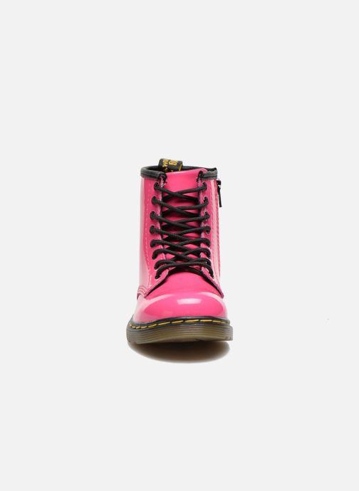 Bottines et boots Dr. Martens 1460 T Rose vue portées chaussures