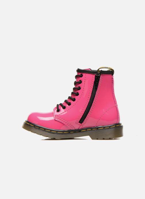 Boots en enkellaarsjes Dr. Martens 1460 T Roze voorkant