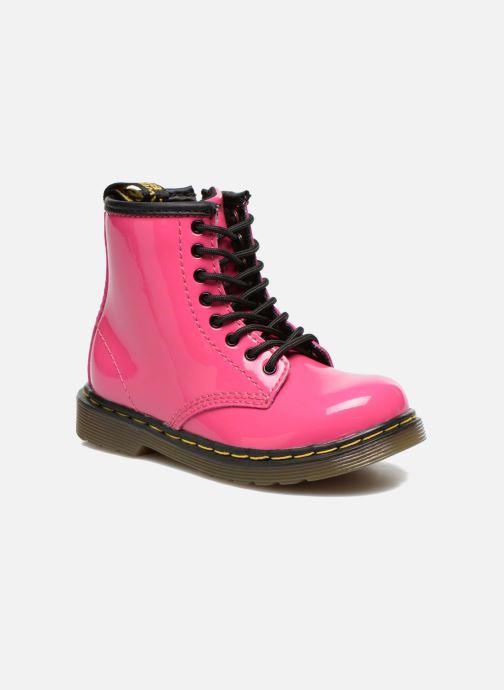 Stiefeletten   Boots Dr. Martens 1460 T rosa detaillierte ansicht modell 4aec44f733