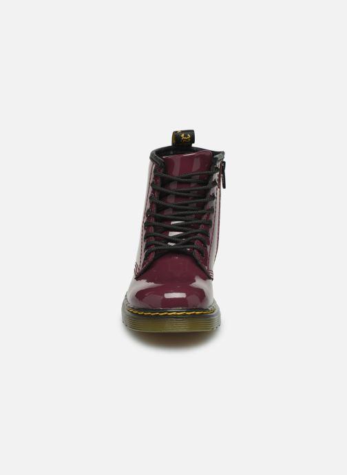 Bottines et boots Dr. Martens 1460 T Bordeaux vue portées chaussures