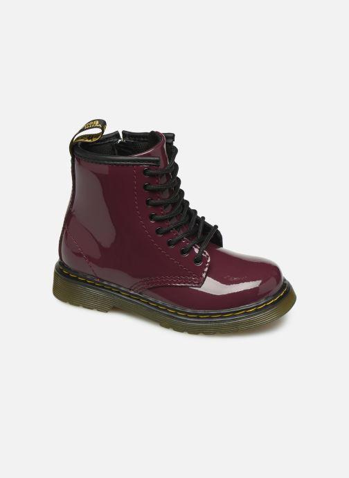 Ankelstøvler Dr. Martens 1460 T Bordeaux detaljeret billede af skoene