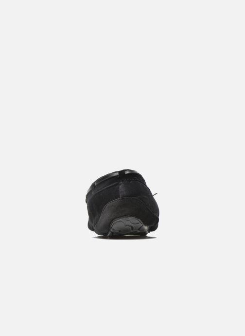 Pantofole Ruby Brown John Nero immagine destra