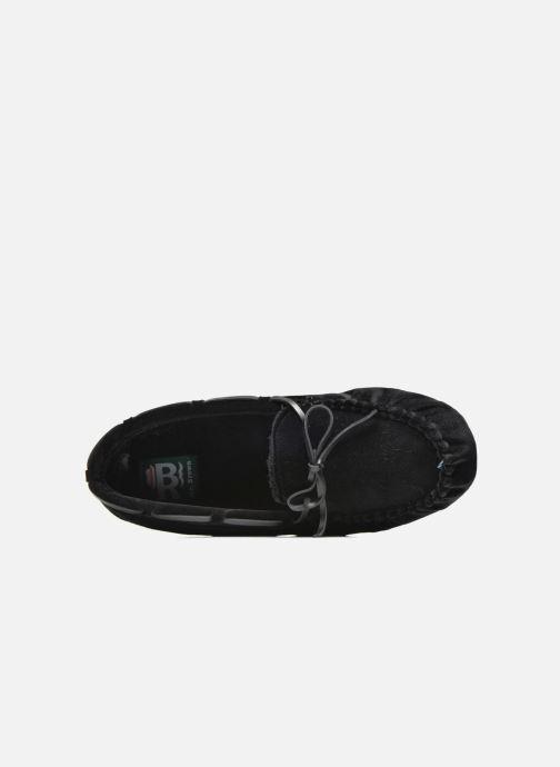 Pantofole Ruby Brown John Nero immagine sinistra