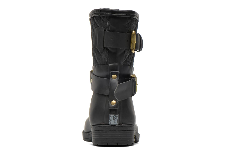 Bottines et boots Colors of California Ophélie Noir vue droite