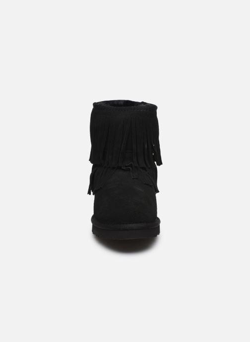 Bottines et boots Colors of California Sadie Noir vue portées chaussures