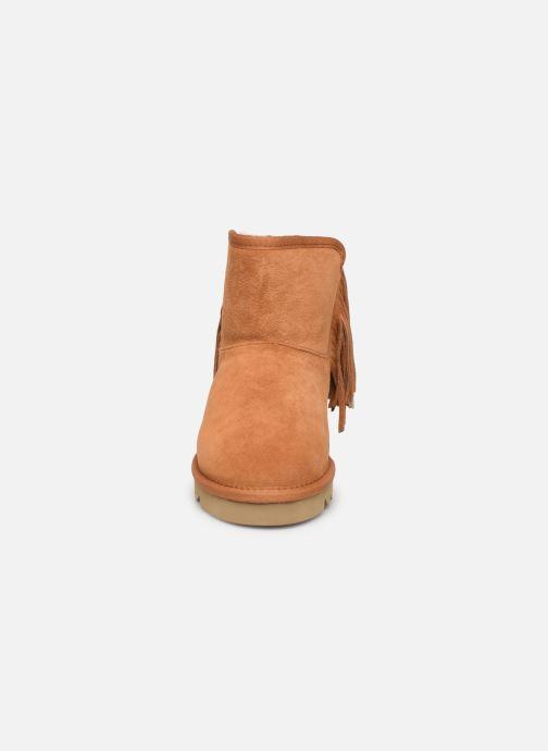 Bottines et boots Colors of California Sadie Marron vue portées chaussures