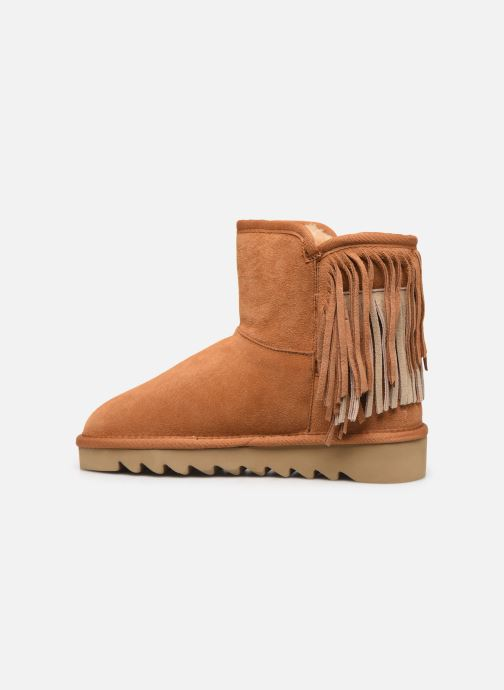 Bottines et boots Colors of California Sadie Marron vue face