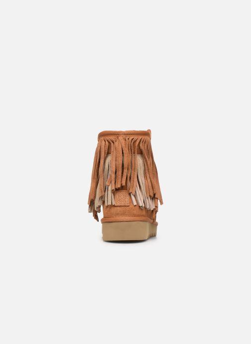 Bottines et boots Colors of California Sadie Marron vue droite