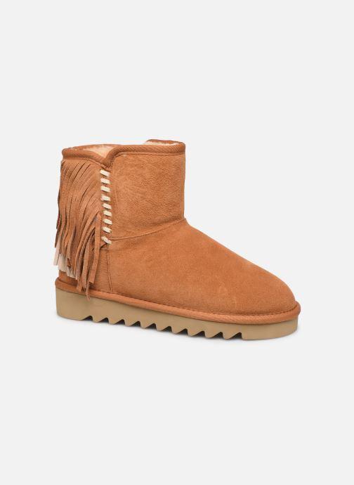 Bottines et boots Colors of California Sadie Marron vue détail/paire