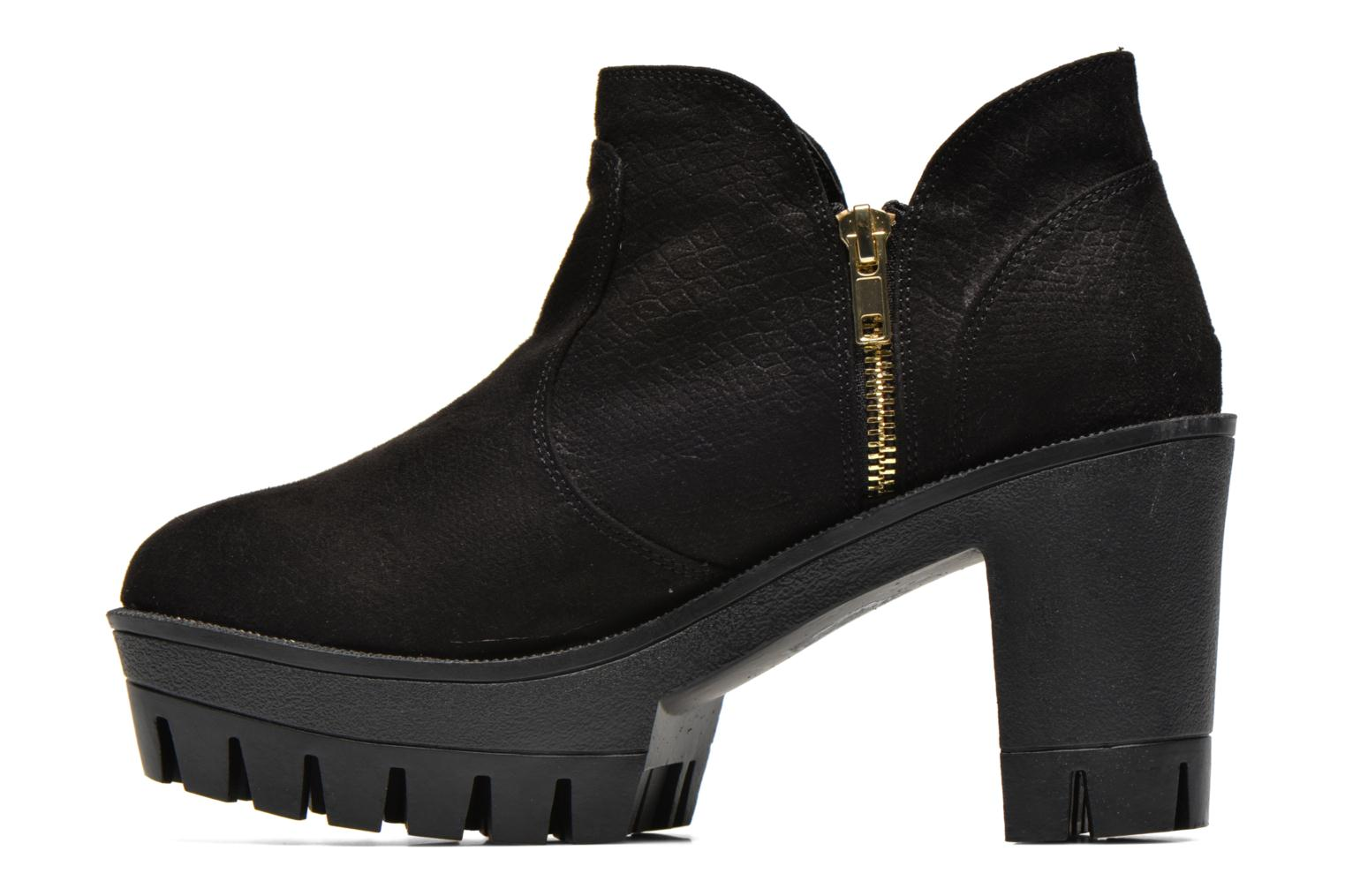 Ankle boots Colors of California Lena Black front view