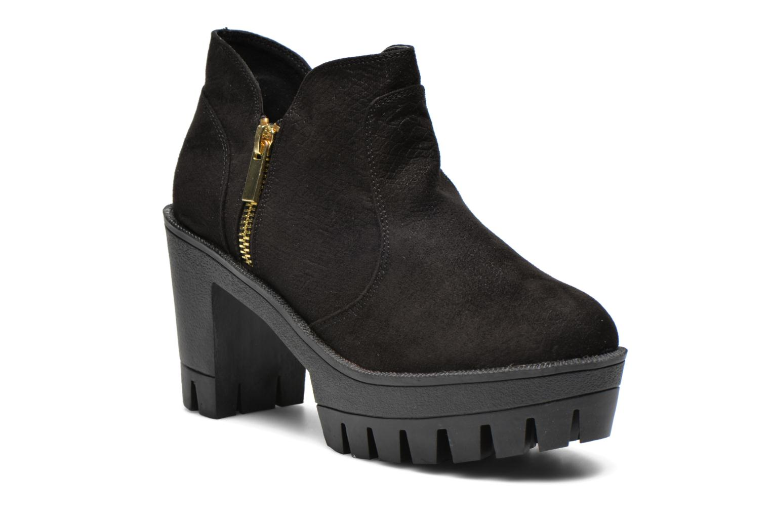 Ankle boots Colors of California Lena Black detailed view/ Pair view