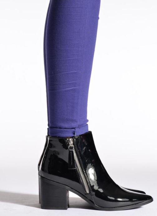Bottines et boots La Strada Nelly Noir vue bas / vue portée sac