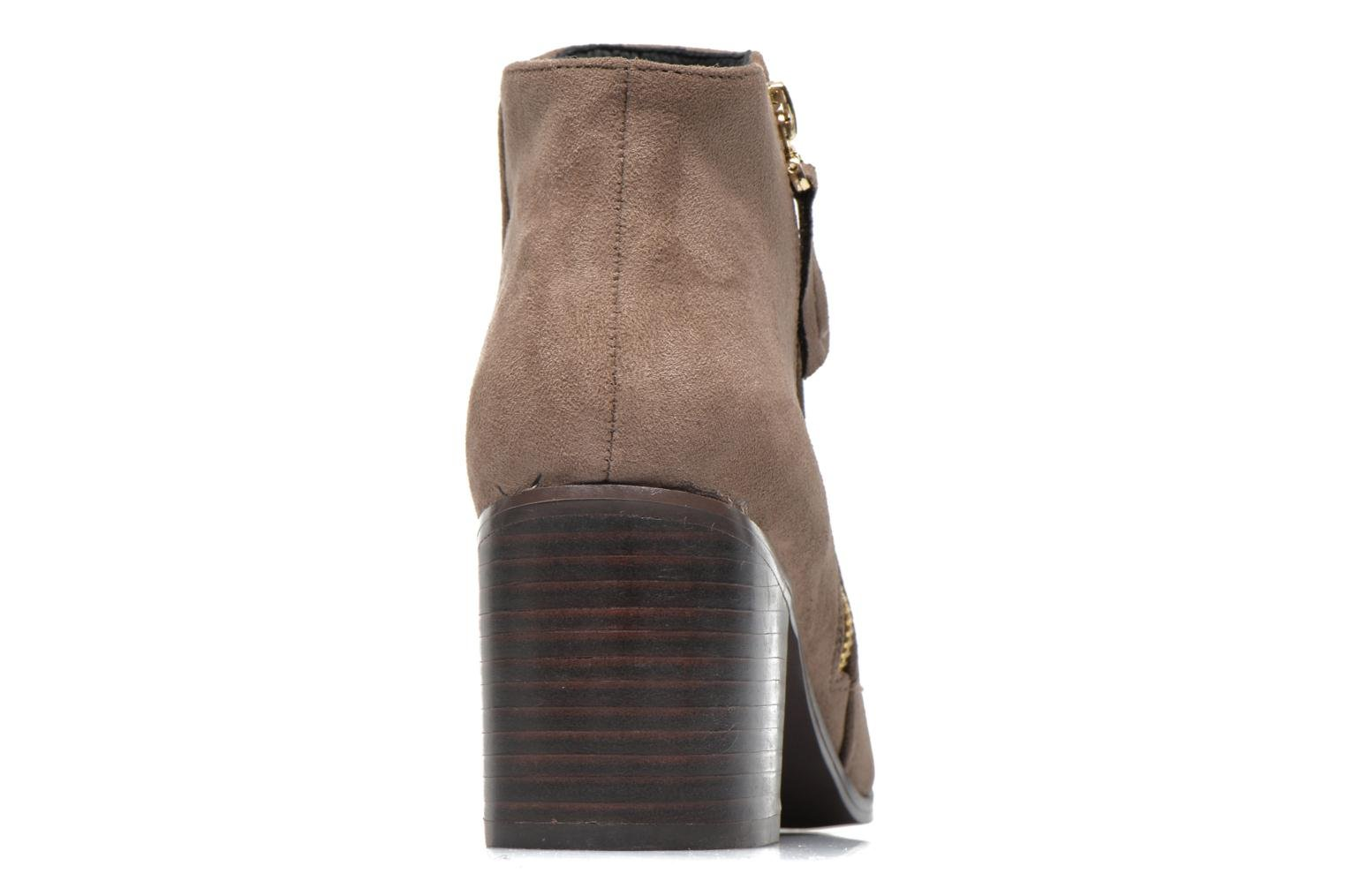 Ankle boots La Strada Nelly Brown view from the right