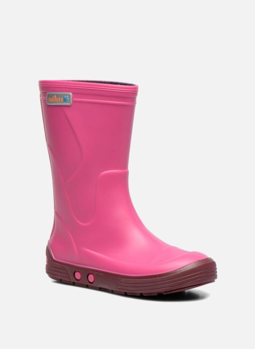 Boots & wellies Méduse Airbus Pink detailed view/ Pair view