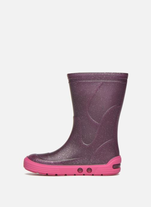 Boots & wellies Méduse Airbus Purple front view