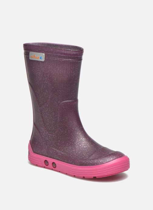 Boots & wellies Méduse Airbus Purple detailed view/ Pair view