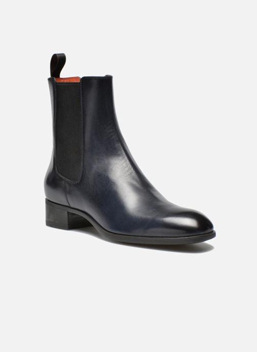 Boots en enkellaarsjes Santoni Elodie 53554 Blauw detail