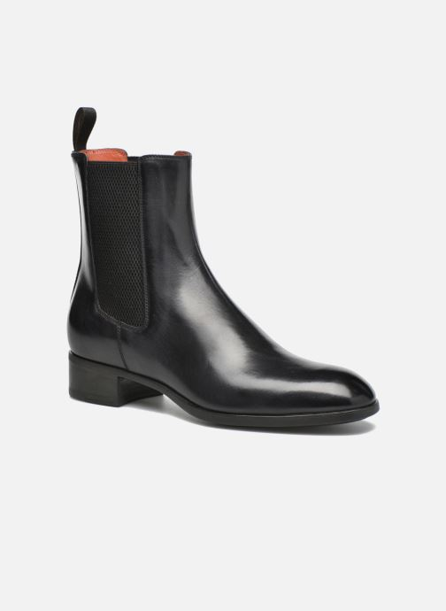 Ankle boots Santoni Elodie 53554 Grey detailed view/ Pair view