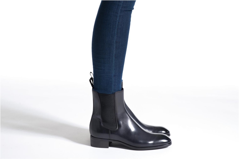 Bottines et boots Santoni Elodie 53554 Gris vue bas / vue portée sac