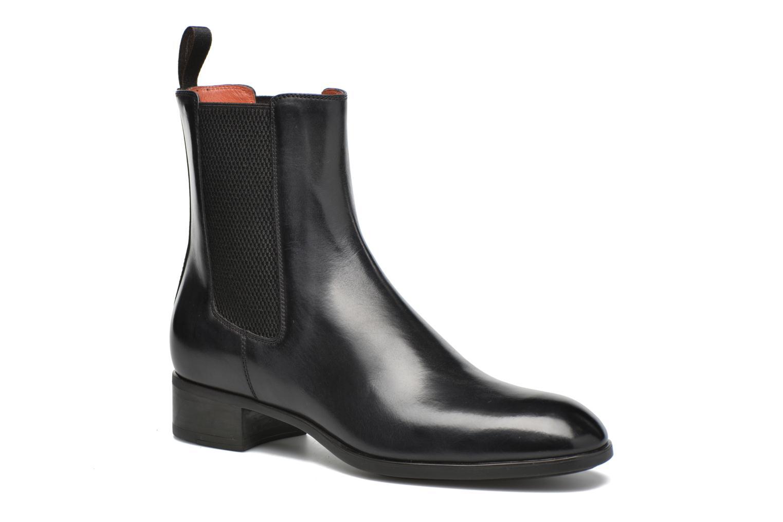 Bottines et boots Santoni Elodie 53554 Gris vue détail/paire