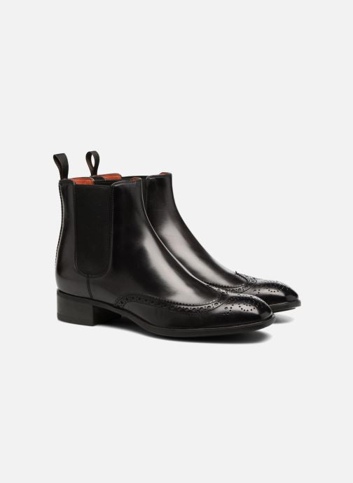 Ankle boots Santoni Elodie 55133 Black 3/4 view