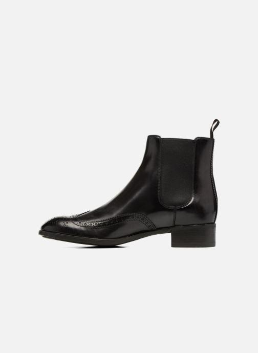 Ankle boots Santoni Elodie 55133 Black front view