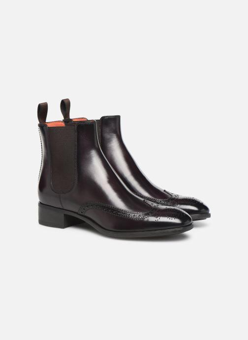 Bottines et boots Santoni Elodie 55133 Violet vue 3/4