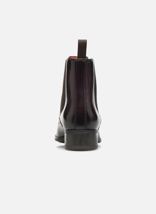 Bottines et boots Santoni Elodie 55133 Violet vue droite