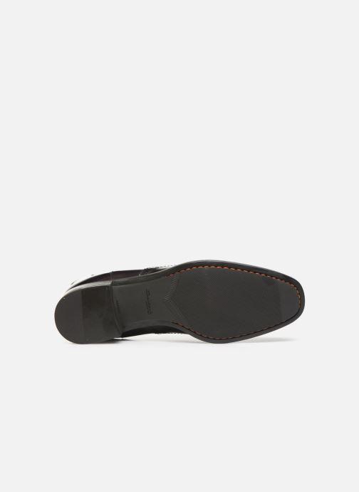 Bottines et boots Santoni Elodie 55133 Violet vue haut