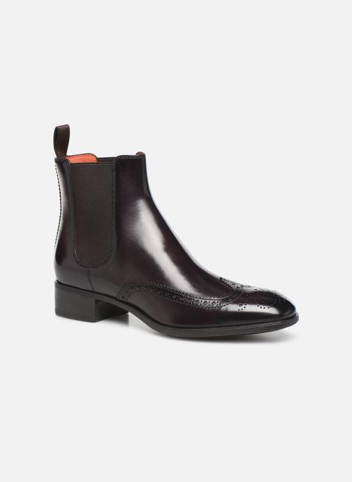 Bottines et boots Santoni Elodie 55133 Violet vue détail/paire