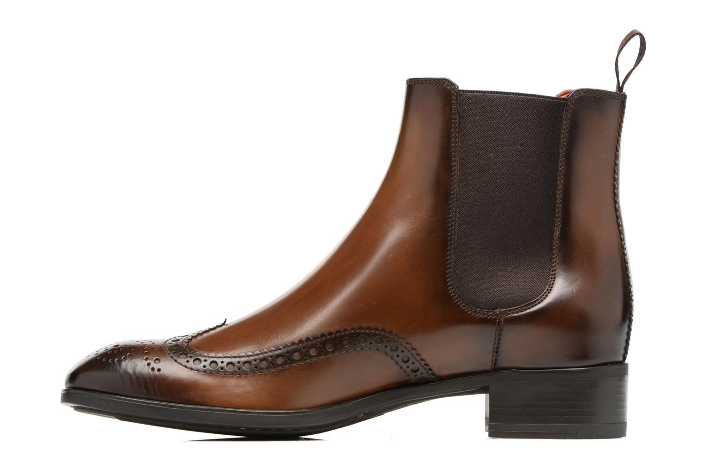Bottines et boots Santoni Elodie 55133 Marron vue face