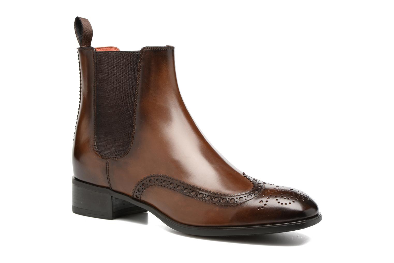 Bottines et boots Santoni Elodie 55133 Marron vue détail/paire