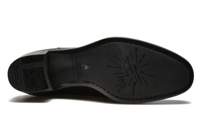 Stiefel Santoni Funny 53436 schwarz ansicht von oben