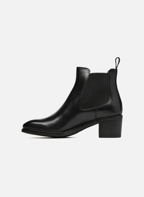 Ankle boots Santoni Fanny 52617 Black front view