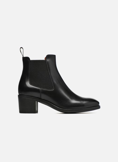 Ankle boots Santoni Fanny 52617 Black back view