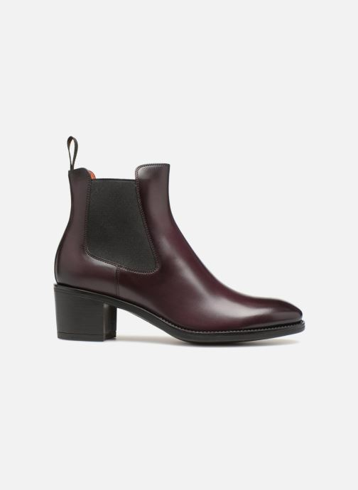 Ankle boots Santoni Fanny 52617 Burgundy back view