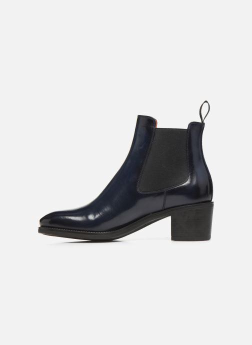 Bottines et boots Santoni Fanny 52617 Bleu vue face