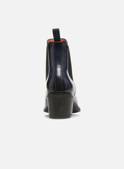 Bottines et boots Santoni Fanny 52617 Bleu vue droite