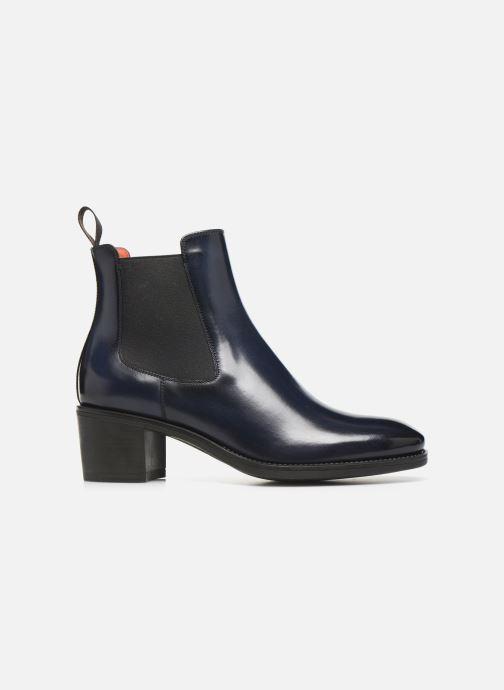 Bottines et boots Santoni Fanny 52617 Bleu vue derrière