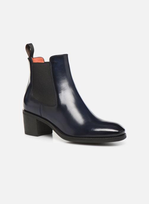 Bottines et boots Santoni Fanny 52617 Bleu vue détail/paire
