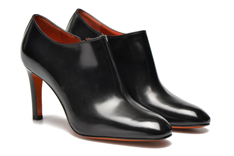 Bottines et boots Santoni Moss 53395 Noir vue 3/4