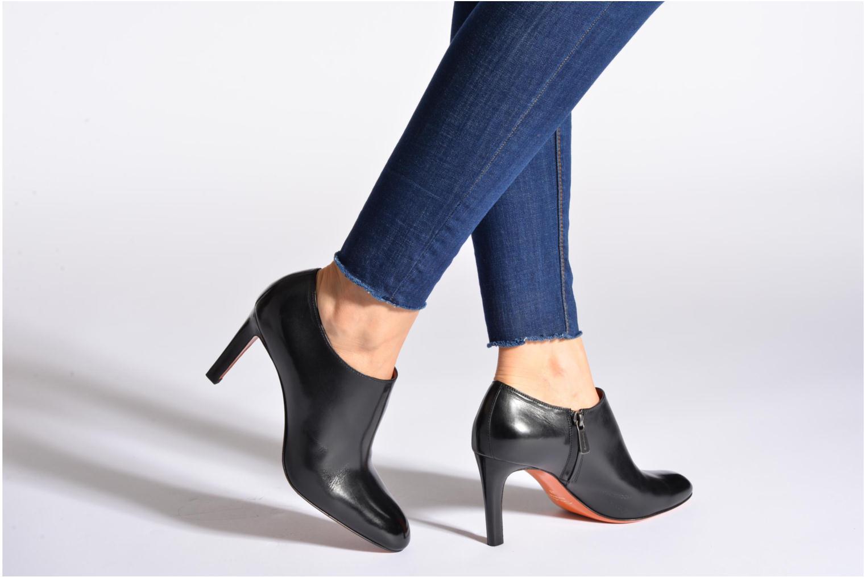 Bottines et boots Santoni Moss 53395 Noir vue bas / vue portée sac