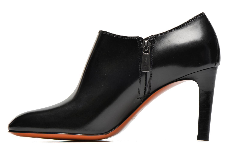 Bottines et boots Santoni Moss 53395 Noir vue face