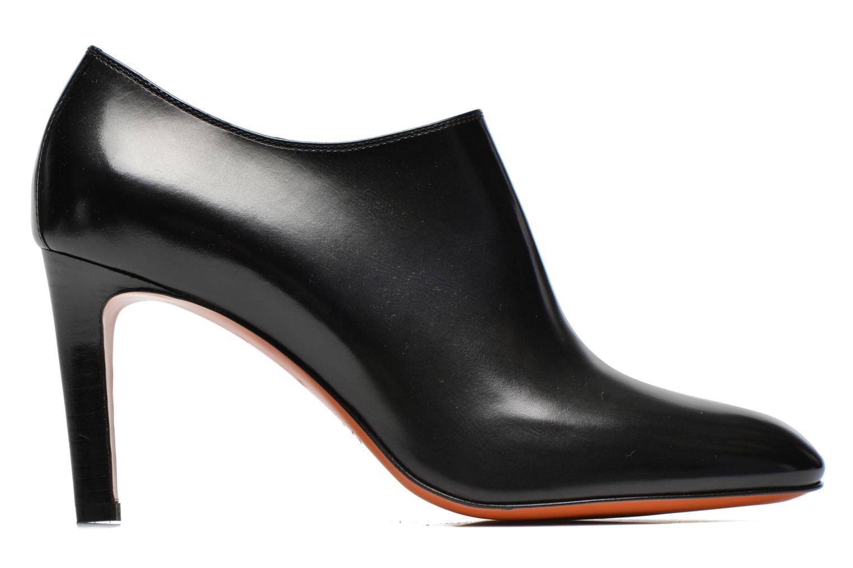 Bottines et boots Santoni Moss 53395 Noir vue derrière