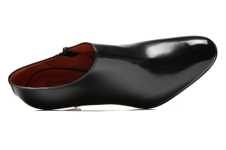 Bottines et boots Santoni Moss 53395 Noir vue gauche