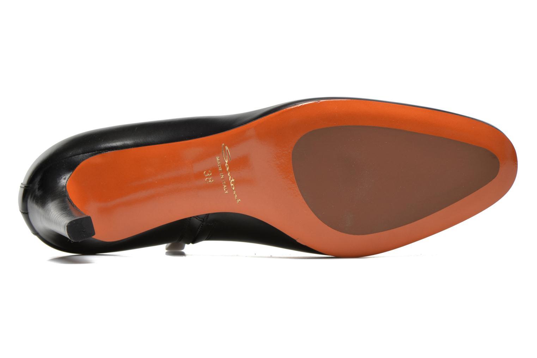 Bottines et boots Santoni Moss 53395 Noir vue haut